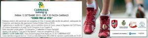 Cariparma running 2015: metà del devoluto a Progetto Itaca Parma