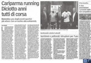 Gazzetta di Parma - 15/9/15